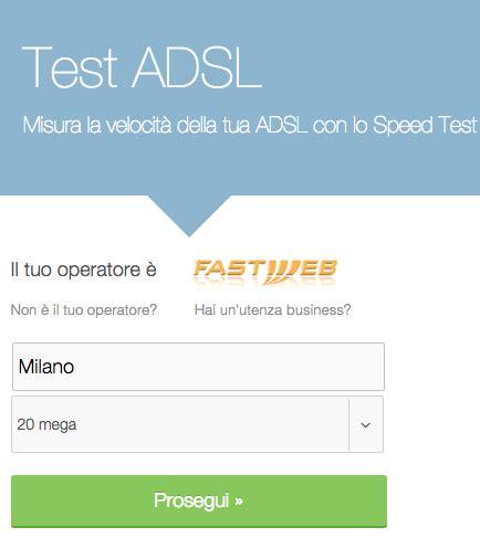 test velocità infostrada come verificare la velocit 224 di connessione 187 sostariffe it