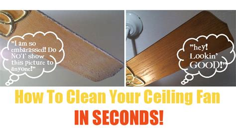 How To Clean Your Ceiling by How To Clean Your Ceiling Fan In Seconds One Thing