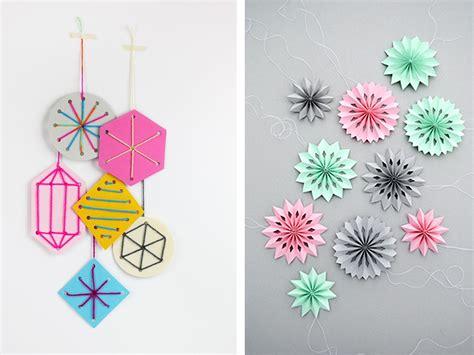 figuras geometricas bonitas decoraci 243 n de navidad inspiraci 243 n geom 233 trica