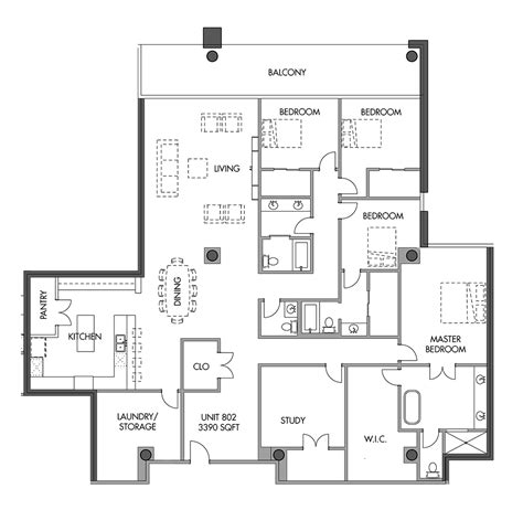 floor plans for units eleven eleven luxury condominiums level 8 units