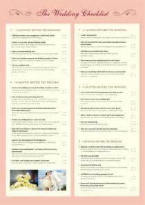 simple wedding planning ultimate wedding checklist vertola