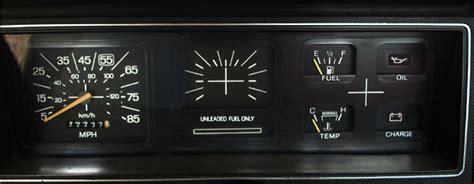 instrument cluster original colors ford truck