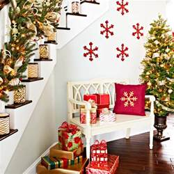 christmas decor images 23 gorgeous christmas staircase decorating ideas