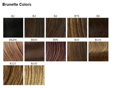 wig color chart raquel welch wig colors neiltortorella