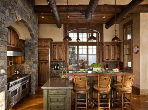 rustic style home decor kitchen rustic italian kitchen designs for warm and soft
