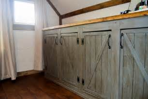 how to make rustic kitchen cabinets ana white scrapped the sliding barn doors rustic cabinet doors instead diy projects
