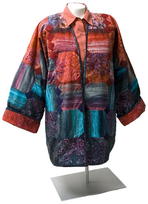 Patchwork Jacket Pattern - patchwork jacket free pattern robert kaufman fabric company