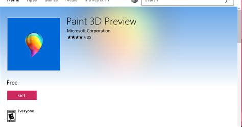 a paint 3d preview is already available for windows hodentek paint 3d debuts in preview for now