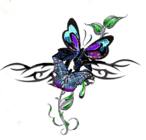 butterfly tribal designs cliparts co