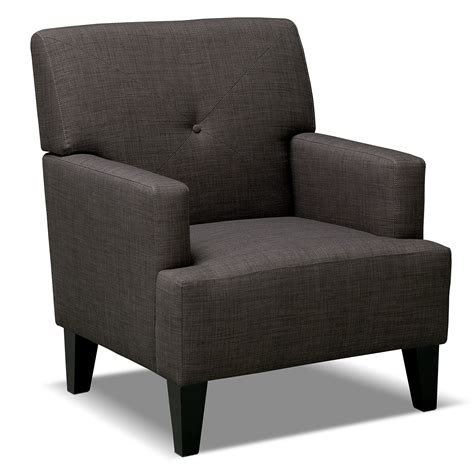 Avalon Accent Chair Value City Furniture Accent Living Room Chairs