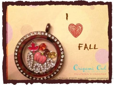 Origami Owl Fall - pin by june trantham on origami owl
