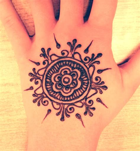 simple henna tattoo designs easy henna designs