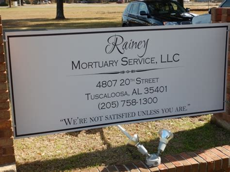 rainey mortuary service llc tuscaloosa al funeral home