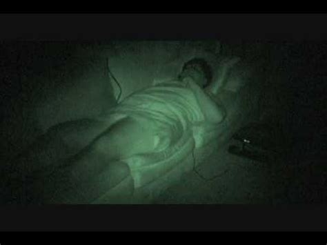 fart caught on night vision (infrared video) youtube