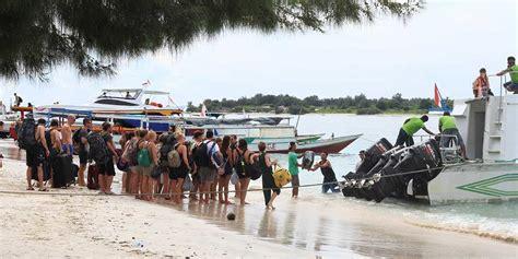 bali to lombok fast boat how long getting to gili trawangan martas gili official martas