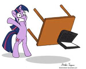 desk flip twilight flips computer desk my pony friendship