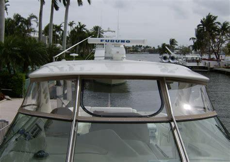 boat bimini top miami upholstery enclosures boat covers bimini tops fort