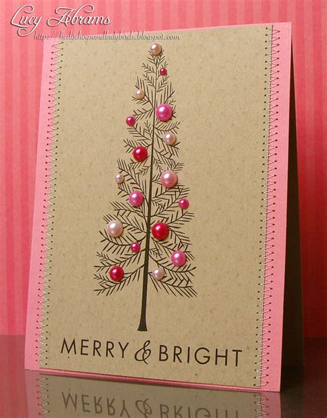 tree card 18 diy cards to impress snappy pixels