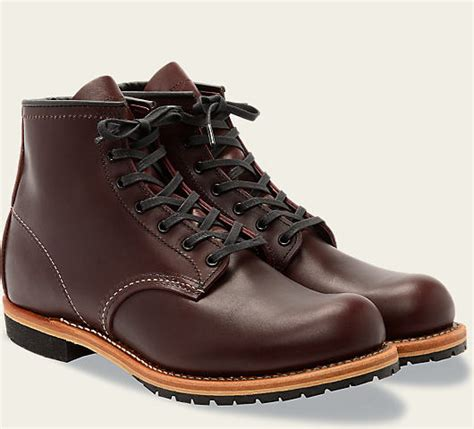 round reed boat men s 9011 beckman round boot red wing heritage