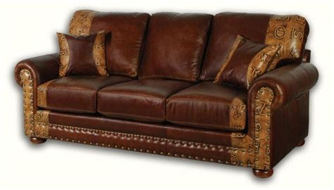 Western Leather Sofa Western Leather Sofas Plushemisphere Western Leather Sofas