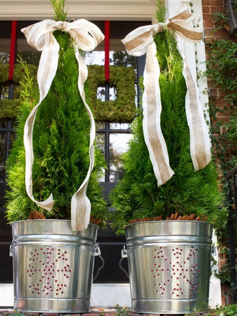 outdoor christmas topiary ideas 50 best outdoor decorations for 2017