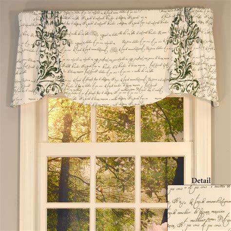 Scalloped Valances For Windows mon amie versatile scalloped window valance