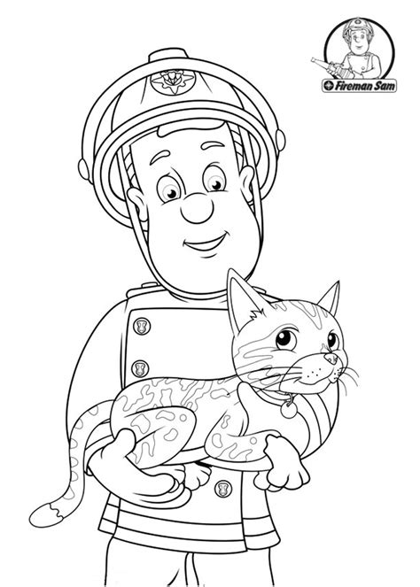 coloring pages of sam and cat sam and cat free coloring pages