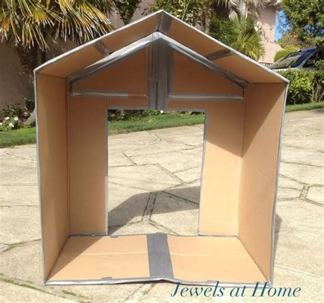 cardboard house plans woodwork diy cardboard playhouse plans pdf plans
