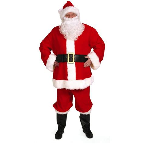 professional santa suits old fashioned santa claus costumes