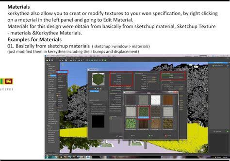 download basic sketchup tutorial pdf deliultimatedownload sketchup texture kerkythea tutorial for outdoor