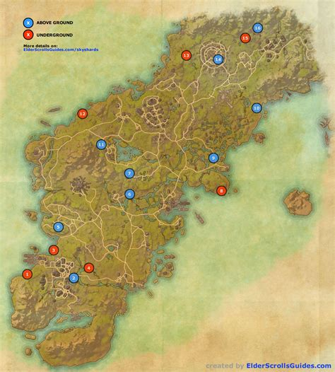 eso skyshard map eso locations skyshard bleakrock isle newhairstylesformen2014