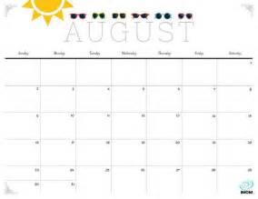 Pretty Calendar Template by August 2017 Calendar Pretty Calendar Template 2017 2018