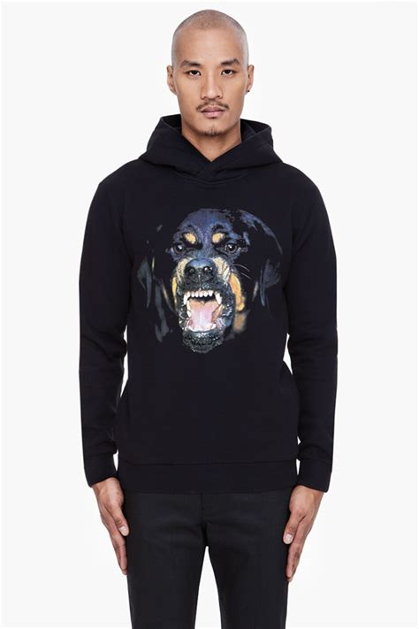 rottweiler givenchy splurge richie s la givenchy rottweiler print hoodie fashion bomb daily