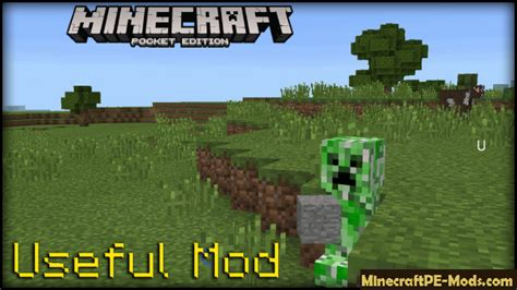 minecraft pe mods android useful minecraft pe mod android 1 0 5 13 1 0 5 1 0 4 1 0 3 1 0 0