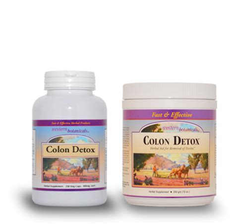 Colon Detox Images by Western Botanicals Bark