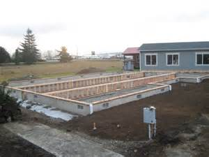 Modular Home Foundation Modular Home Ready Foundation Constructed At Coach Corral