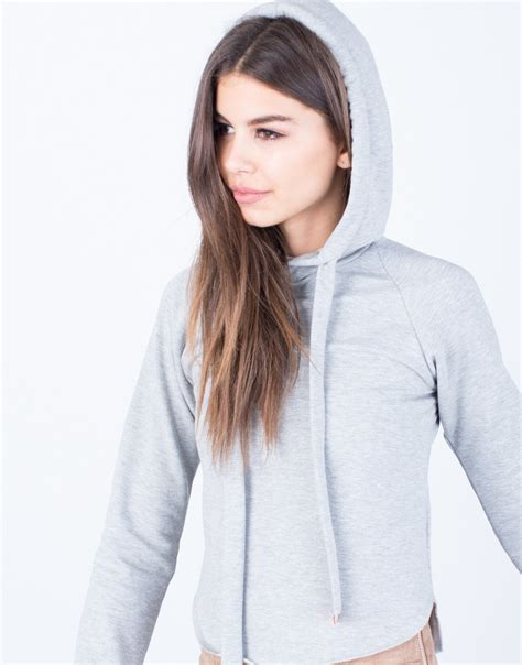 Pom Crope Hoodie Sweater 1 cropped hooded knit sweater sweater and boots