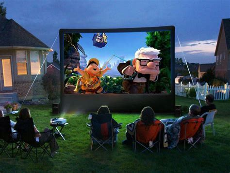 backyard movie night projector backyard movie night 187 all for the garden house beach
