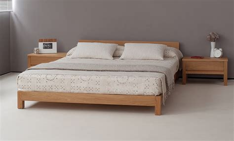 Nevada Low Wooden Bed Natural Bed Company Wooden Beds