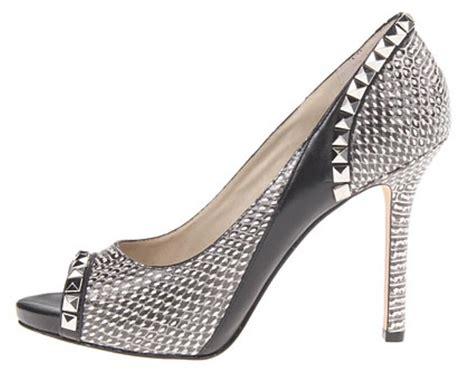 s shoes michael kors ella peep peep toe heels pumps