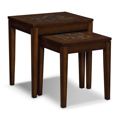 Occasional Furniture American Signature Furniture Carson Occasional Tables