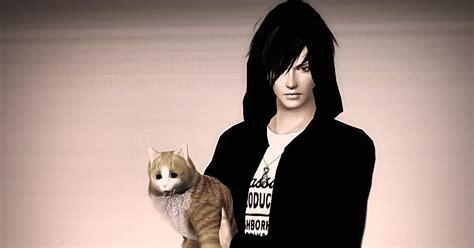 my sims 3 blog cat my sims 3 blog male poses with cats by ahiruchanet