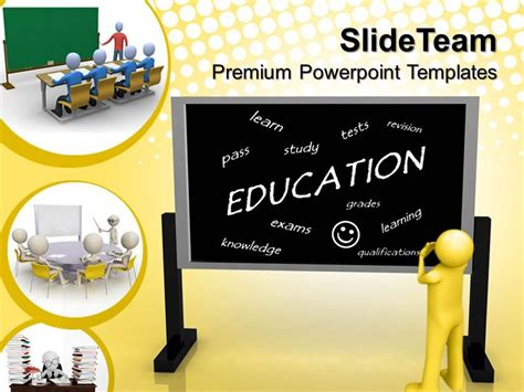 9 best images of educational powerpoint slide templates