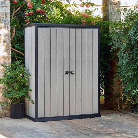 decorating fascinating design  keter shed  chic outdoor storage ideas inandamellbergcom