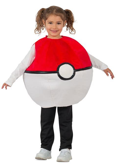 pokemon pokeball costume for kids