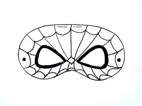 8 name paper crafts free printable spiderman mask
