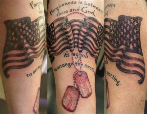 small military tattoos mexican flag chest quotes ideas best