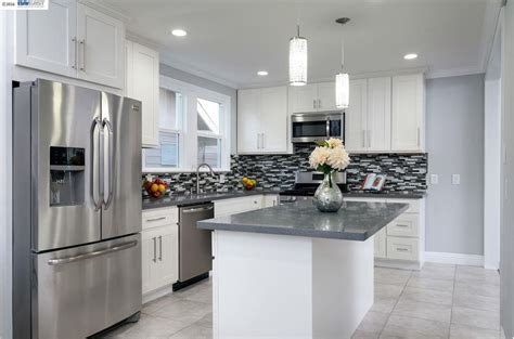 kitchen cabinets in oakland ca kitchen with pendant light flat panel cabinets in