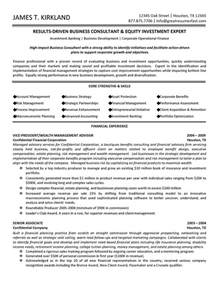 business consultant wealth management advisor resume