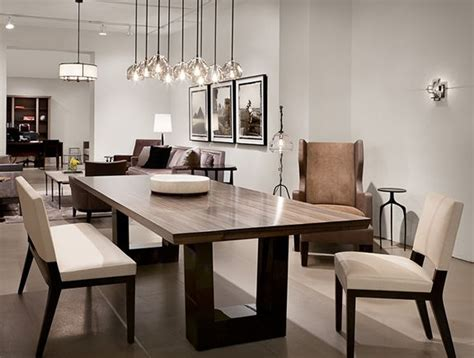 modern wood dining table best 25 contemporary dining rooms ideas on